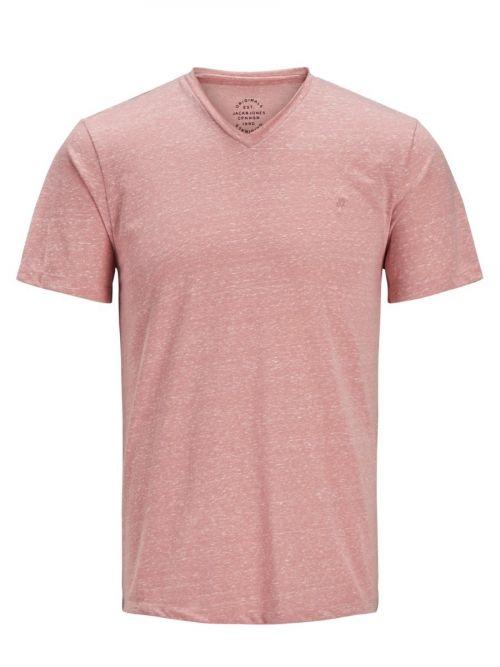 T-Shirt Με V Λαιμόκοψη