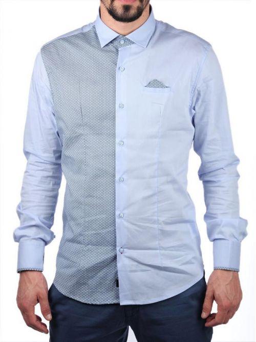 Μοντέρνο πουκάμισο με λεπτομέρειες