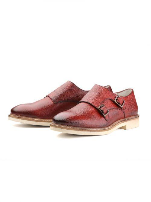 Δερμάτινα παπούτσια Monks